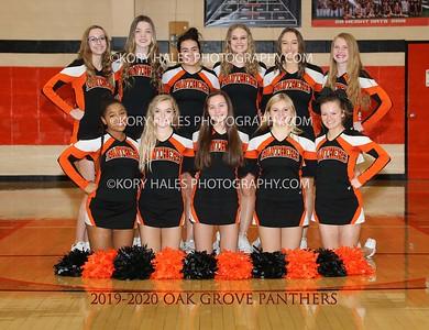 2019-2020 OGHS Cheerleading