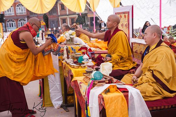 Bouddha Consecration Ceremony