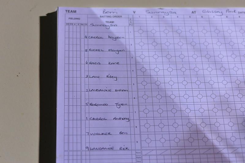 """""""A"""" Grade Berri v Sunraysia (Round 3)"""