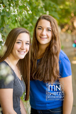 Kristin and Kaitlin - Class of 2016