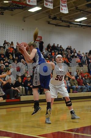 2A Regional Girls Basketball Manson NW Webster vs DSM Christian