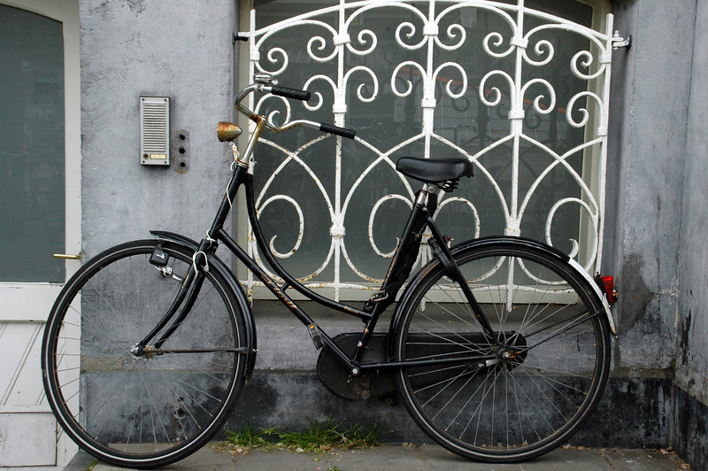 Amsterdam was all about bikes