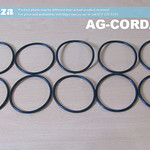 SKU: AG-CORD/60/3, 10 Pieces of 3mm Cord Diameter, 60mm Outer Diameter, Rubber Ring for Surface Drive Rotary Driving Wheel