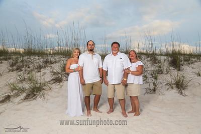 Lemire and Houston Families Panama City Beach