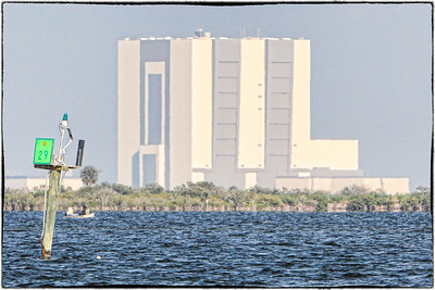 VAB at KSC - The Vertical Assembly Building on The Kennedy Space Center