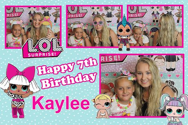 Kaylee Birthday 2018