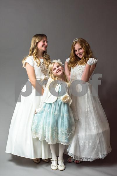 Carly, Clara and Christin