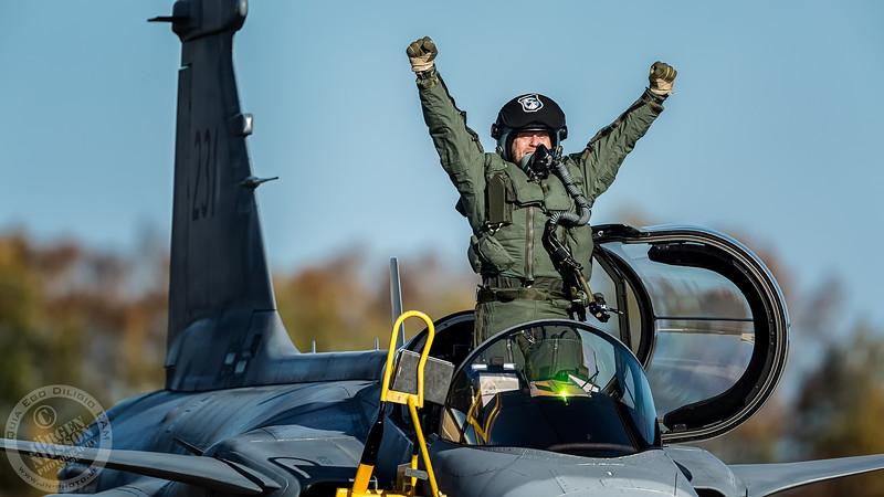 Gripen pilot