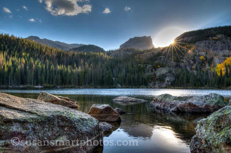 Sunset Hour at Bear Lake