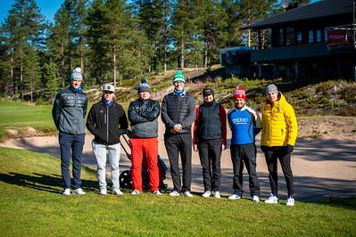 Charity Golf 2020 ryhmäkuvat