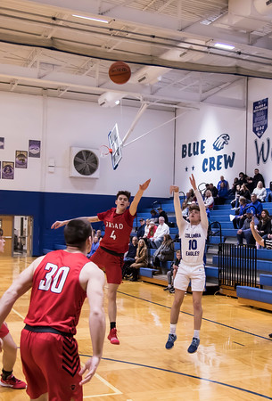 2/8/2020 Boys Varsity Basketball v Triad