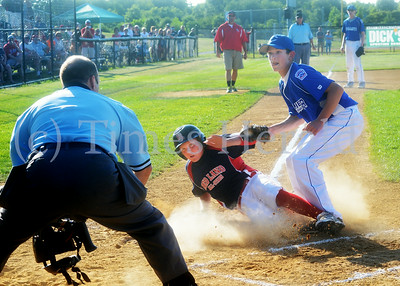Collier plays Red Land in Little League game