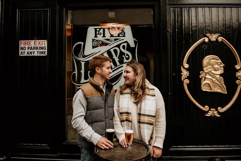 Raul and Keara's Dublin engagement