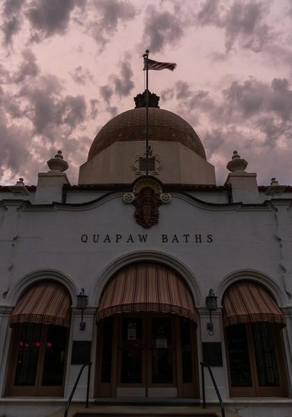 Quapaw Baths and Storm