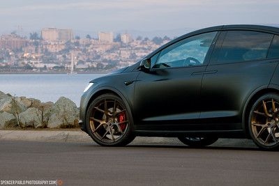 Tesla Model X with BC Forged