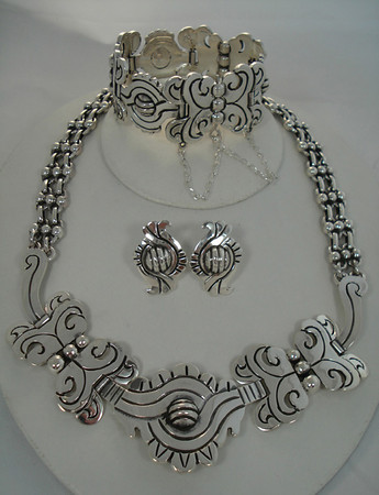 Unique Taxco Silver Jewelry