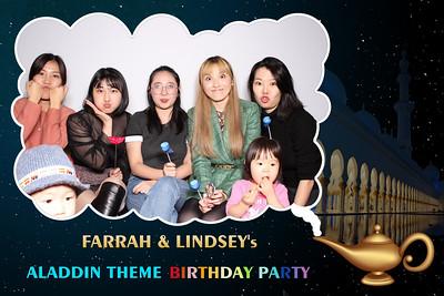 Farrah & Lindsey's Birthday Party