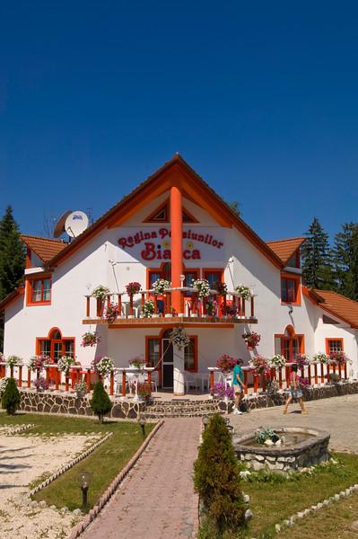 Country hotel, Transylvania, Romania