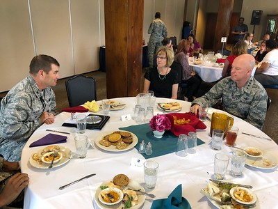 LGBT Pride Luncheon at Peterson AFB, 6/20/18