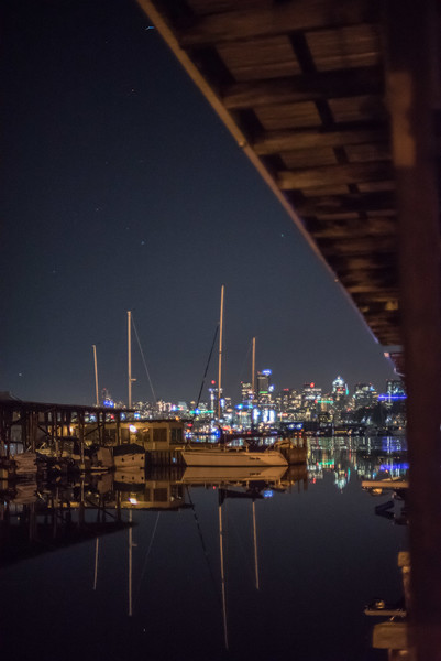 Marina at night Dec 2016