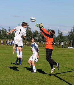 OHS Boys Soccer vs Grace Academy