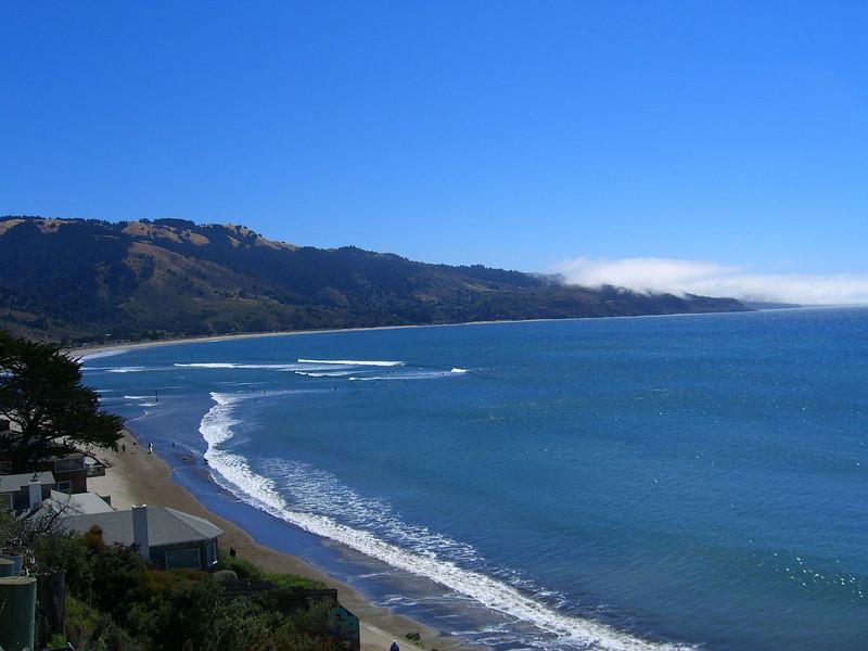 Bolinas coast, looking south to Stinson Beach