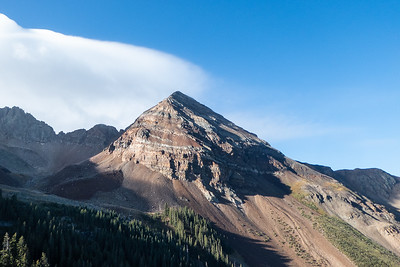 Sharkstooth Pass and Colorado Trail to Molas Lake August 2018