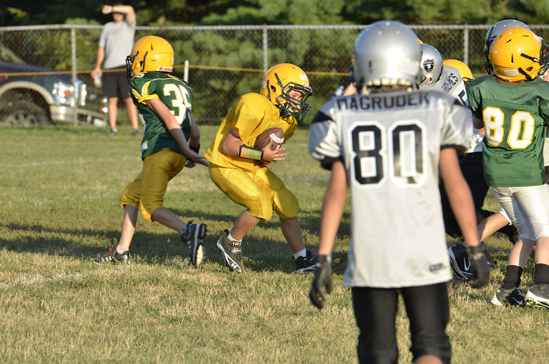 Wildcats vs Raiders Scrimmage 179.JPG