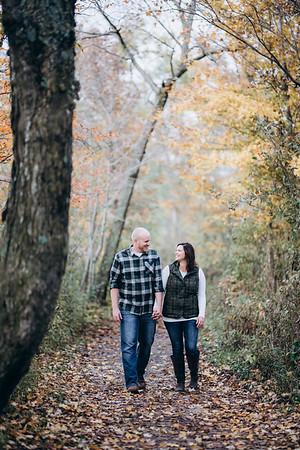 Brenda + Parker | Wisconsin Forest Engagement Session