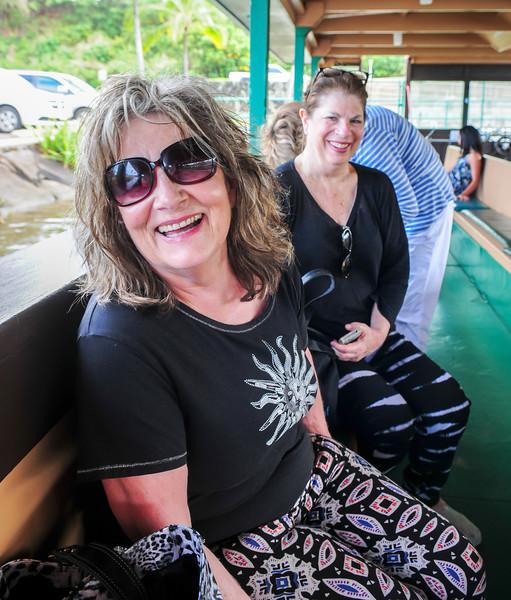 Faye and Leslie on the Wailua River Cruise.jpg