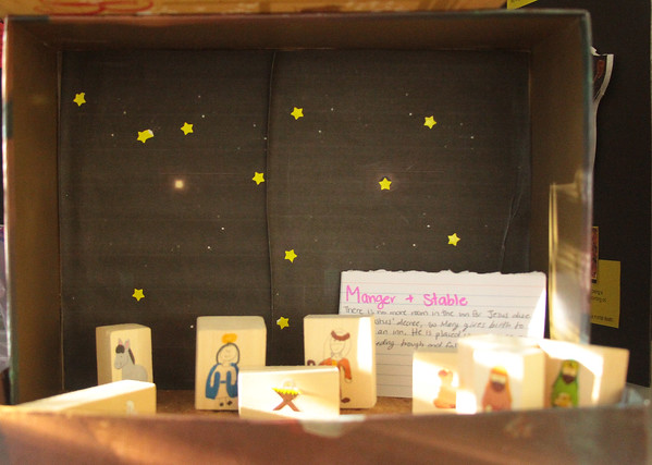 Nativity Scenes Created by Students