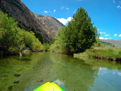 Kayaking Rush Creek