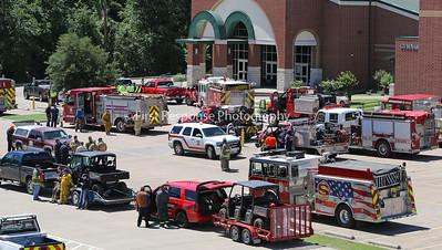 Canton TX . Mutual Aid Tornado Response.  4/30/17