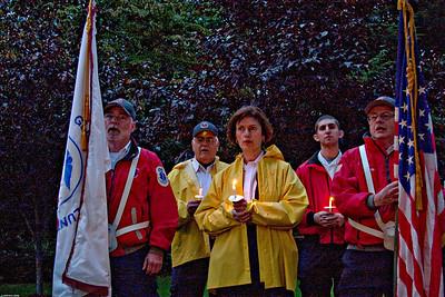 Glen Rock 9/11 Memorial 2009