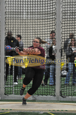 Girls' Weight Throw - 2014 MITS State Meet