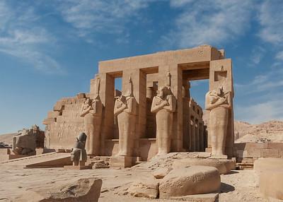 Ramesseum and Colossi of Memnon
