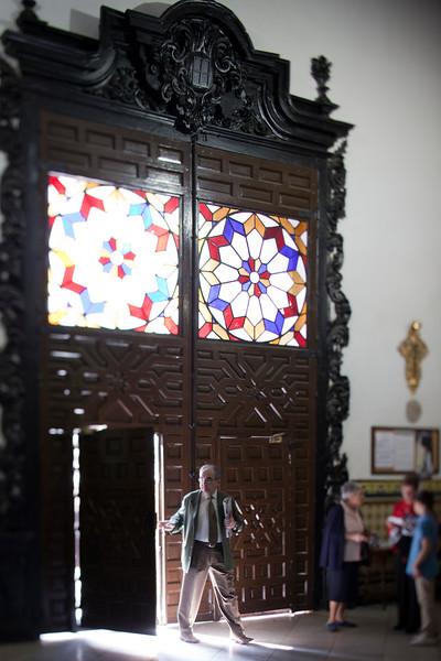 Doorway of San Lorenzo church, Seville, Spain