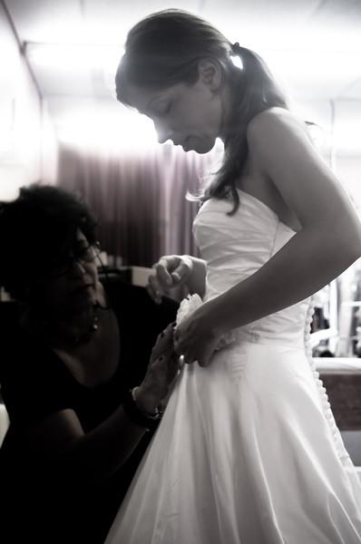 Zuzana's Wedding Dress Fitting