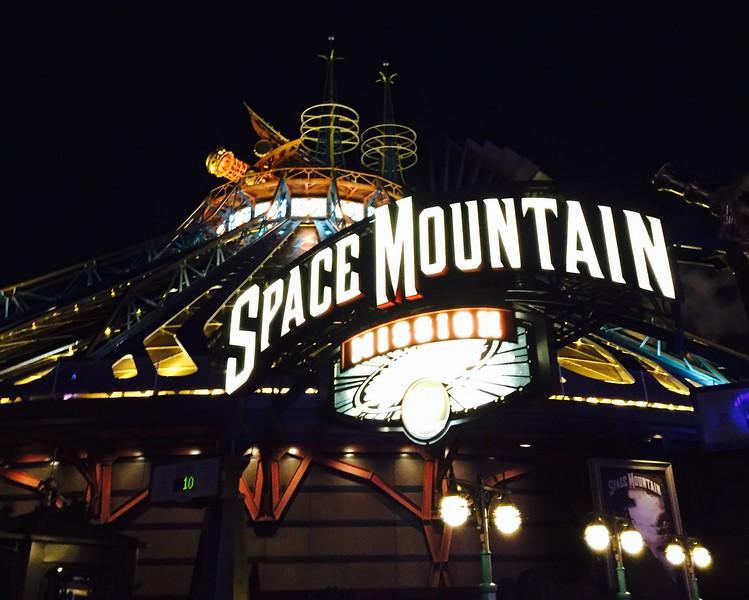 Space Mountain Mission, Disneyland Paris