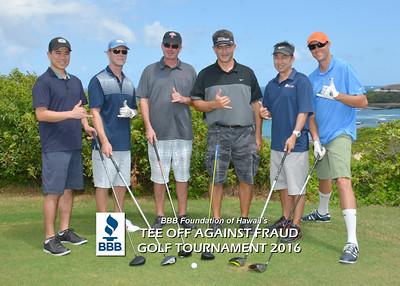 BBB Golf Tournament  '16