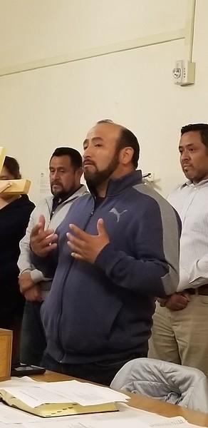 3-21-2019 Nueva mesa directiva del Comite Hispano