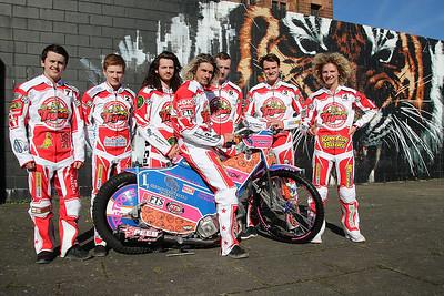 Glasgow Tigers riders 2017