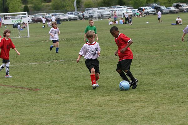 YMCA rec Soccer U-10 4-28-2007