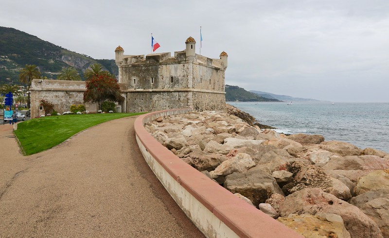 Jean Cocteau Museum in the 18th century fortress built to protect the harbor - Menton, France