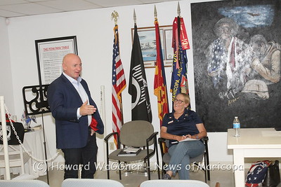 Mark Kelly with Blue Star Moms 6-19-2019