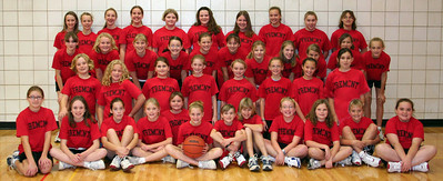 5th and 6th Grade Girls Basketball - 2006-2007 - 11/20/2006 Team Picture