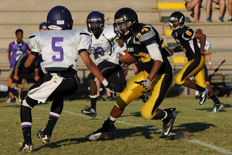 And just a few football photos from our spring jamboree.