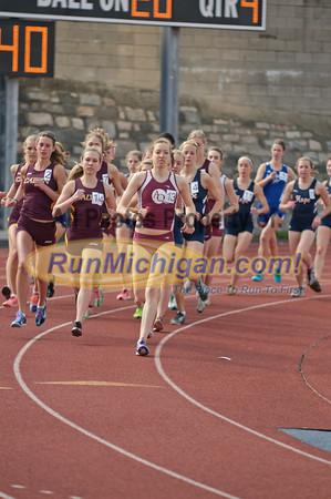 Women's 3000M - 2012 Grand Rapids Open