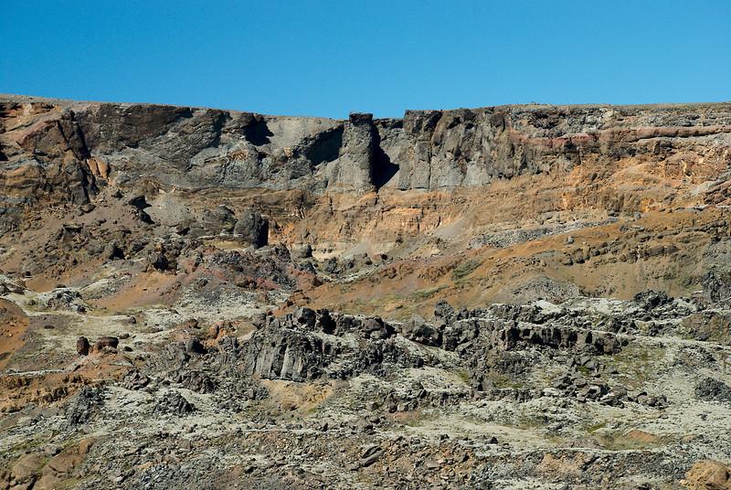 Landslagið í nágrenni við Háafoss