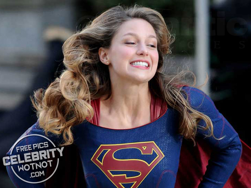 Melissa Benoist Looked Overjoyed Leaping Around The Supergirl Set!